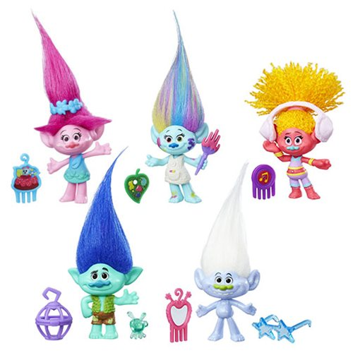 Trolls Small Troll Town Collectible Figures Wave 1 Case