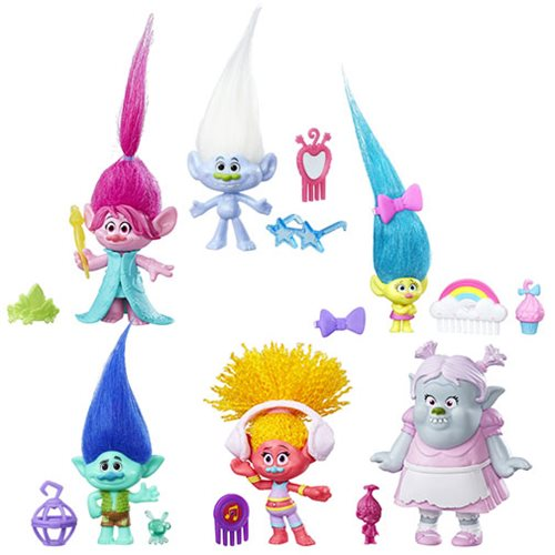 Trolls Small Troll Town Collectible Figures Wave 3 Case
