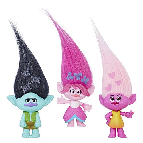 Trolls Small Troll Town Collectible Figures Wave 4 Case