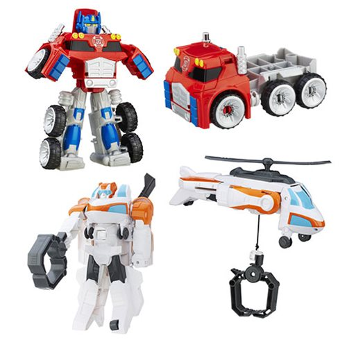 Transformers Rescue Bots Megabots Wave 2 Case