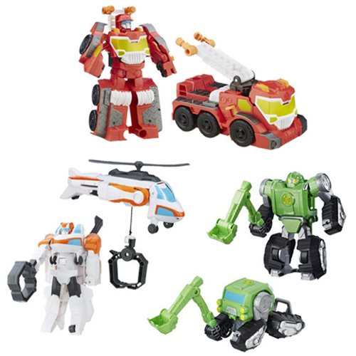 Transformers Rescue Bots Megabots Wave 3 Case