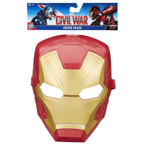 Captain America Civil War Iron Man Hero Mask