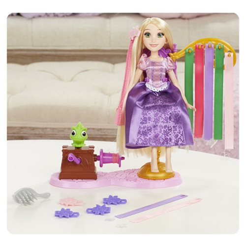 Disney Princess Rapunzel's Royal Ribbon Salon Playset