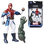 Captain America Marvel Legends Captain Britain Action Figure