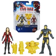Captain America Iron Man Scarlett Witch 2 1/2-Inch Figures