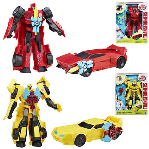 Transformers Robots in Disguise Power Heroes Wave 1 Case
