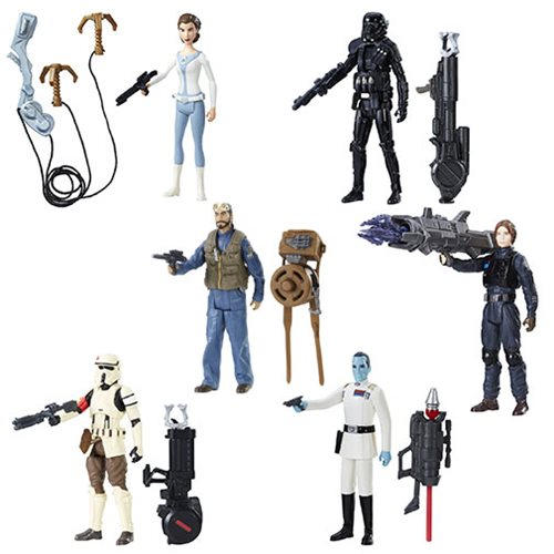 Star Wars Rogue One 3 3/4-Inch Action Figures Wave 3 Case