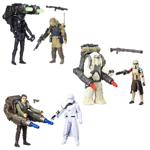 Star Wars Rogue One 3 3/4-Inch Action Figure 2-Packs Wave 1