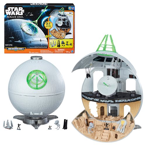 Star Wars Rogue One MicroMachines Death Star Playset