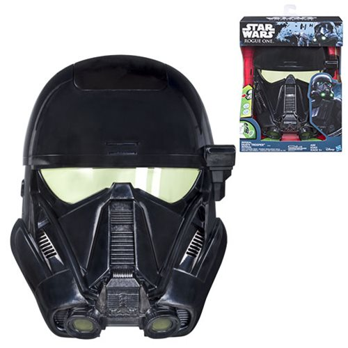 Star Wars Rogue One Death Trooper Voice Changer Mask