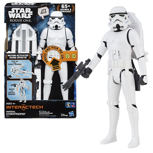 Star Wars Rogue One Electronic Stormtrooper Action Figure