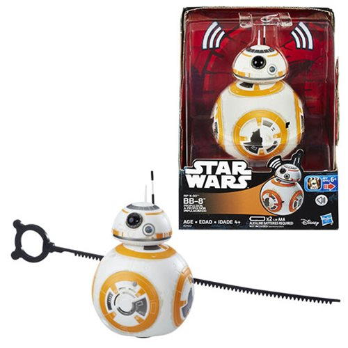 Star Wars Rogue One Rip N Go BB-8 Beeping and Moving Droid