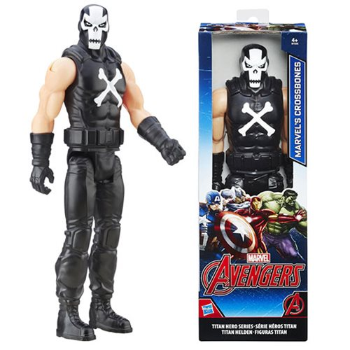 Avengers Titan Hero Series Crossbones 12 Inch Action