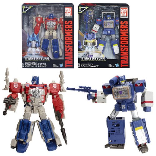 Transformers Generations Titans Return Leader Wave 2