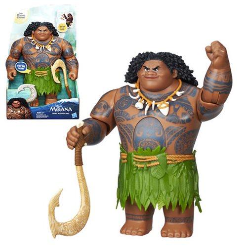 Moana Swing 'n Sounds Maui Doll