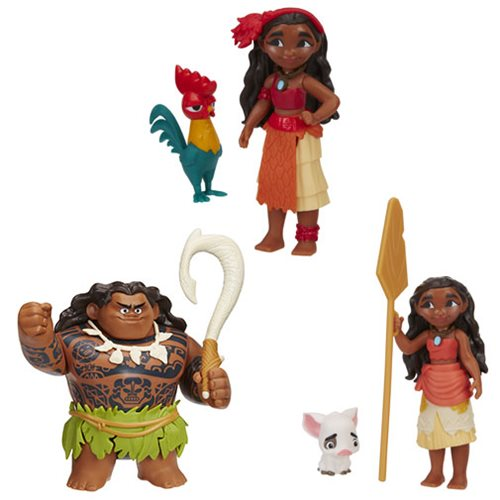 Moana Small Action Figures Wave 2 Case