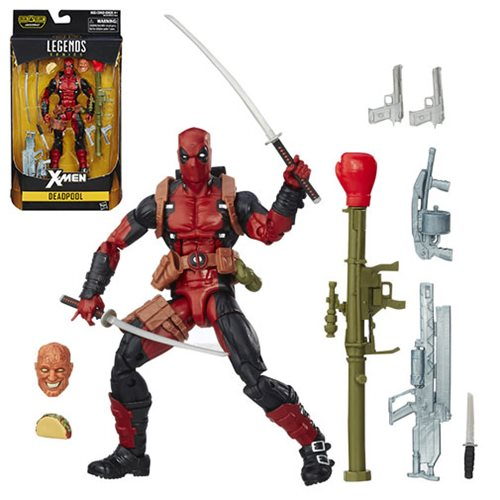 X-Men Marvel Legends 6-Inch Deadpool Action Figure