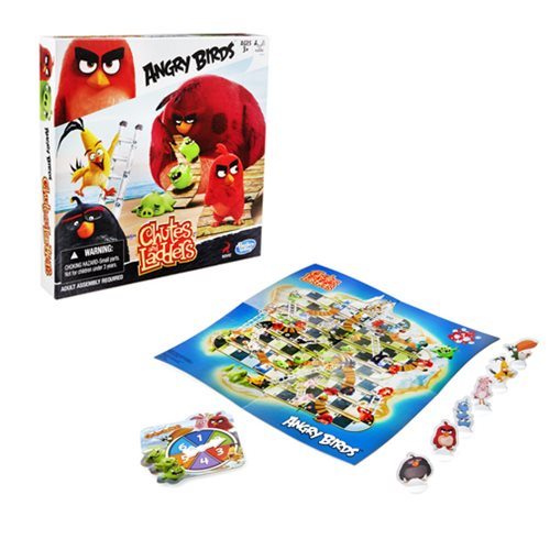 Angry Birds Chutes and Ladders Edition Game, Not Mint