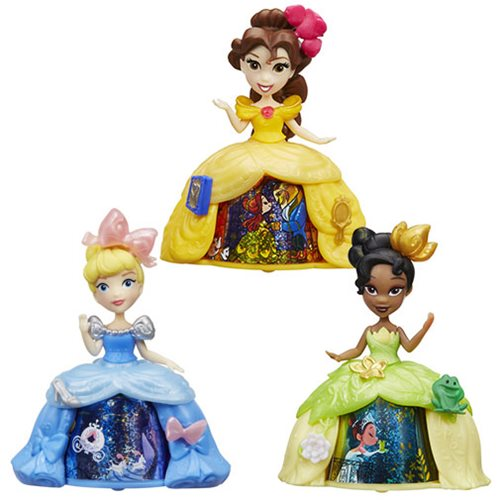 Disney Princess Small Transformation Dolls Wave 1 Set