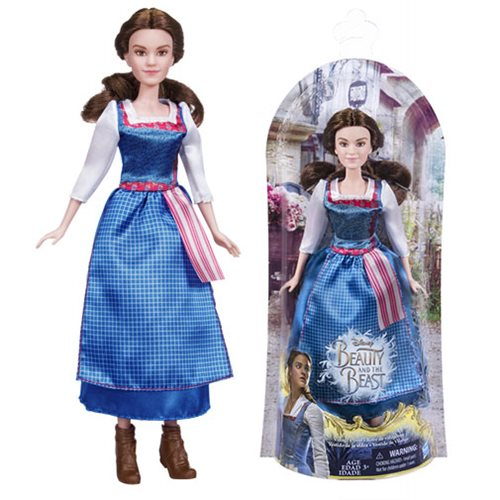 Beauty and the Beast Village Dress Belle Doll