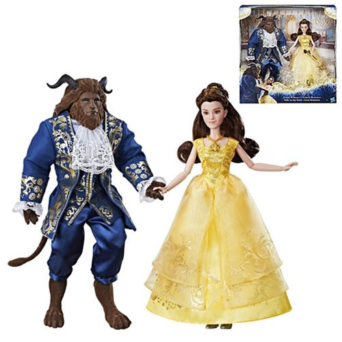 Beauty and the Beast Dolls 2-Pack