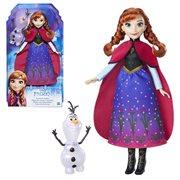 Frozen Northern Lights Anna Doll