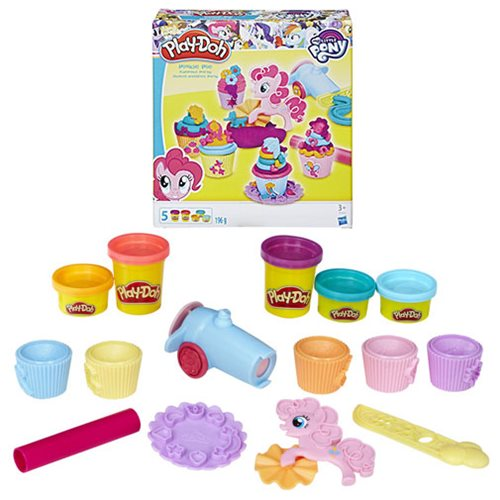 My Little Pony Play-Doh Pinkie Pie Cupcake Party
