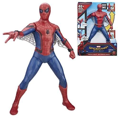 Spider-Man Homecoming Tech Suit Spider-Man Action Figure