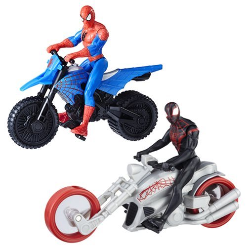 Spider-Man 6-Inch Action Figures and Vehicles Wave 1 Set