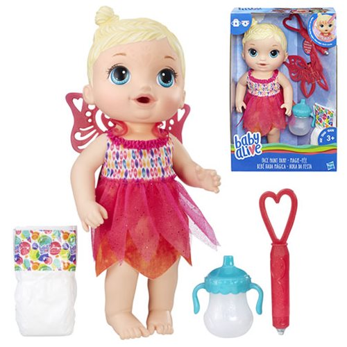 Baby Alive Face Paint Fairy Doll