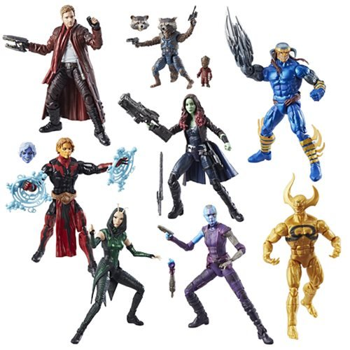 Guardians of the Galaxy Marvel Legends Action Figures Wave 2