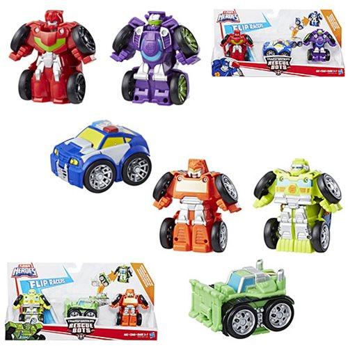 Transformers Rescue Bots Flipracer Multipacks Wave 1 Case