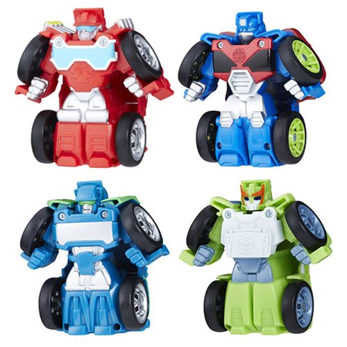 Transformers Rescue Bots Flipracers Wave 1 Set