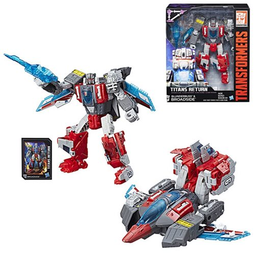Transformers Generations Titans Return Voyager Broadside