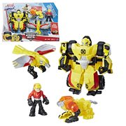 Transformers Rescue Bots Bumblebee Rock Rescue Team