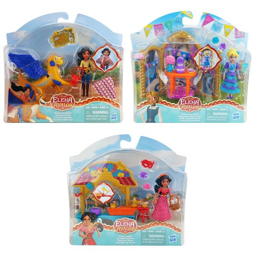 Elena of Avalor Small Doll and Scene Sets Wave 2