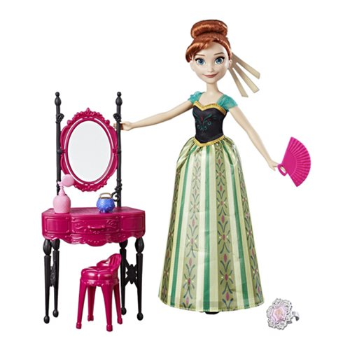 Frozen Anna and Coronation Vanity Doll