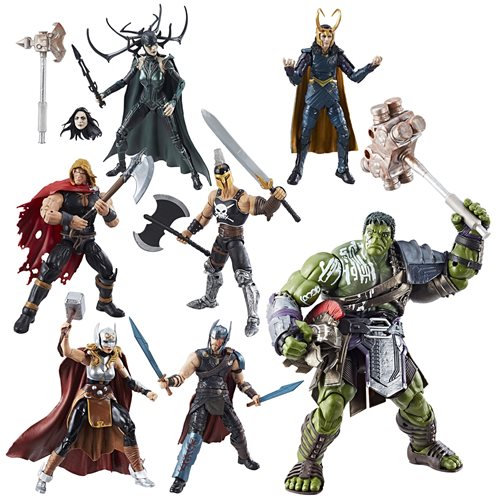 Thor Ragnarok Marvel Legends Action Figures Wave 1 Case