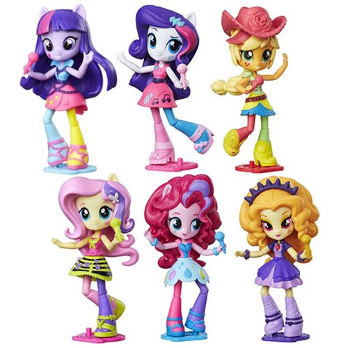 My Little Pony Equestria Girls Mini-Figures Wave 1 Case