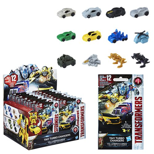 Transformers Tiny Turbo Changers Series 1 6-Pack