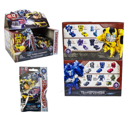 Transformers Tiny Turbo Changers Series 2 Case