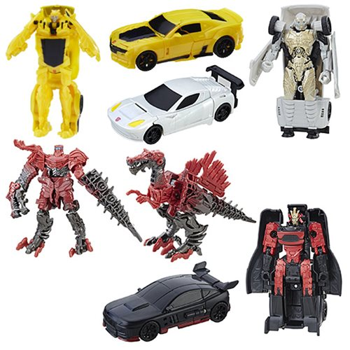 Transformers Last Knight One Step Turbo Changers Wave 3 Set