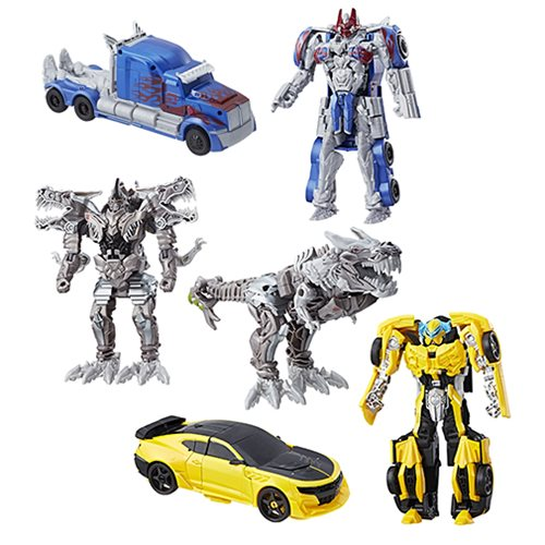 Transformers The Last Knight Armor Turbo Changers Wave 1