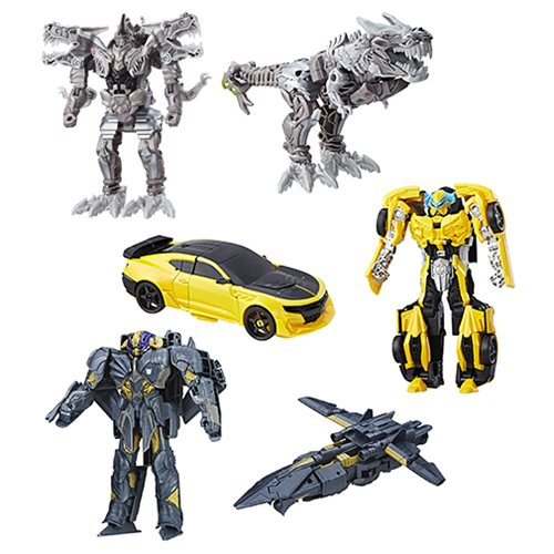 Transformers The Last Knight Armor Turbo Changers Wave 2