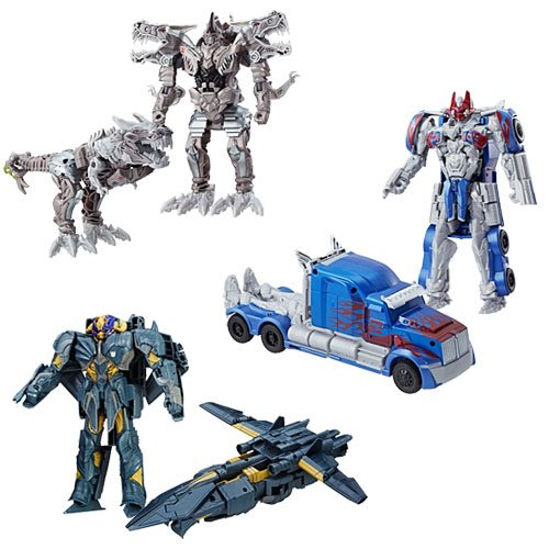 Transformers The Last Knight Armor Turbo Changers Wave 4