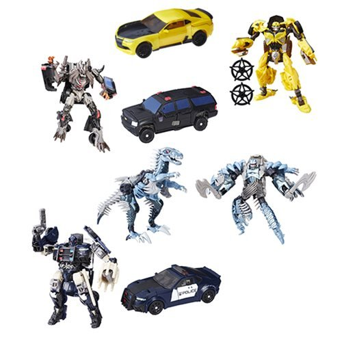 Transformers The Last Knight Premier Deluxe Wave 1 Set