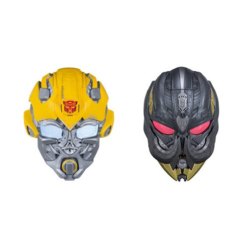 Transformers The Last Knight Voice Changer Masks Wave 1 Case