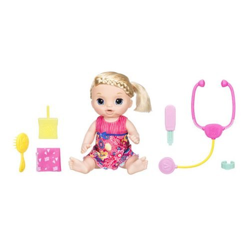 Baby Alive Sweet Tears Baby Blonde Doll