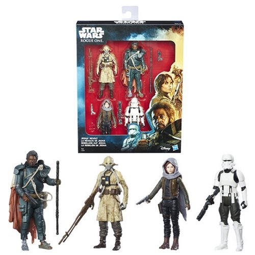 Star Wars Rogue One Jedha Revolt Action Figure Set