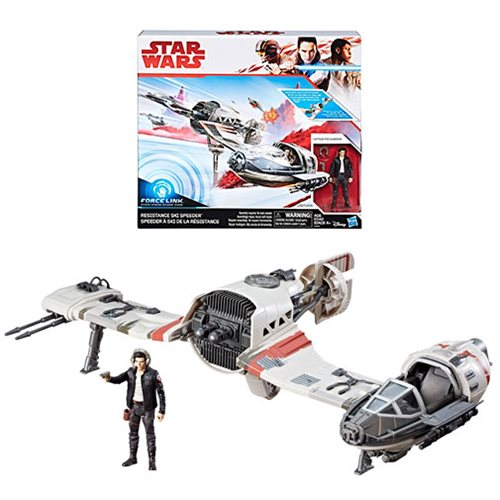 New Star Wars Ship - Poe's Ski Speeder!